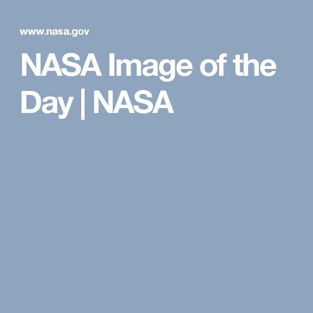 Day photo of the nasa