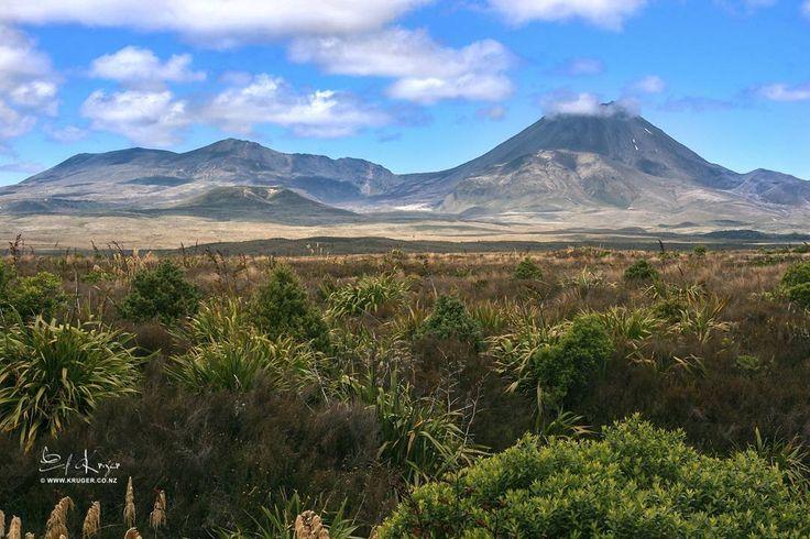 Mt Tongariro New Zealand