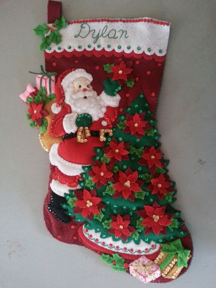 Stocking for my niece Dylan