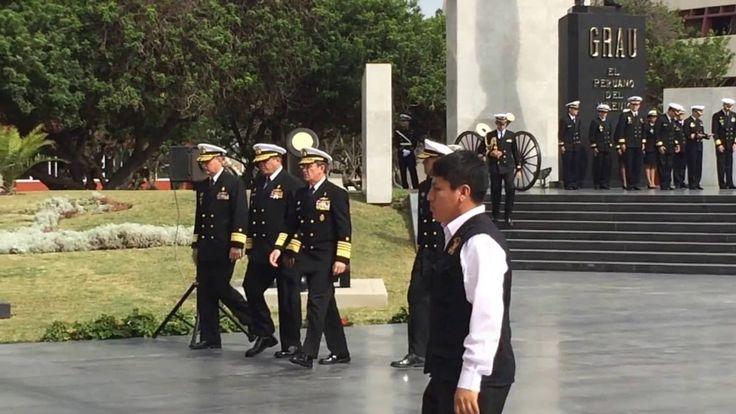 Juramentación de los Cadetes de Primer Año de la Escuela Naval del Perú ...