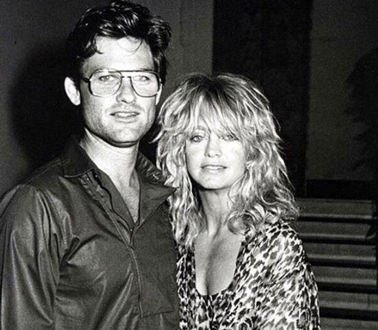 Курт Рассел и Голди Хоун - архивные фото
