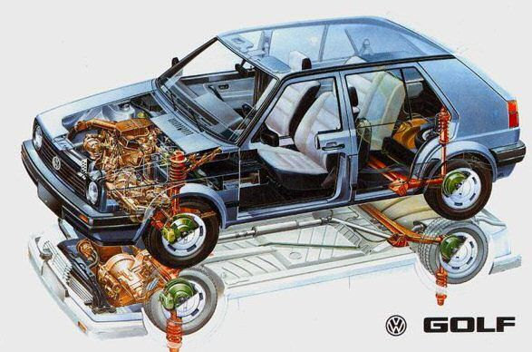 B C E Ec Ad on Vw Vr6 Engine Exploded View