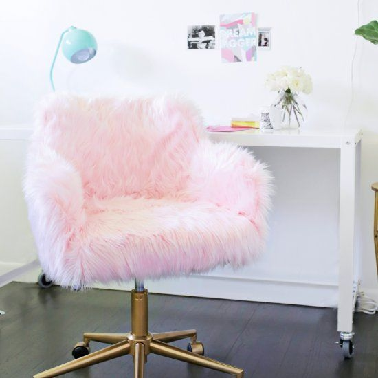 omg i need this chair! #kawaii #cute #fluffy #pink