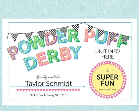 ITS NEVER BEEN EASIER TO ORGANIZE A GREAT POWDERPUFF DERBY!  Make sure your…