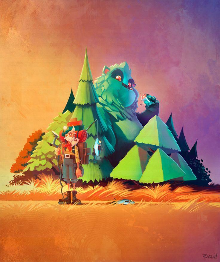 The Art Of Animation, Ryan Hall