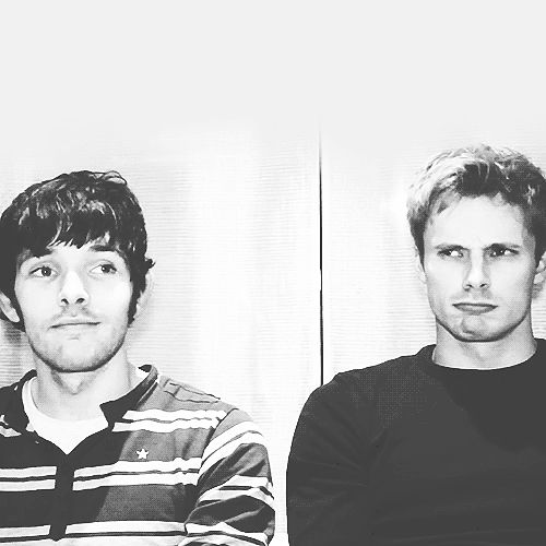 This gif may sum up Colin and Bradley's friendship perfectly. Bradley looking to Colin for confirmation, Colin just looking like he's going with the flow. Tumblr
