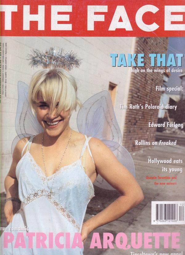 THE FACE Magazine No70 Patricia Arquette Cover December 1993