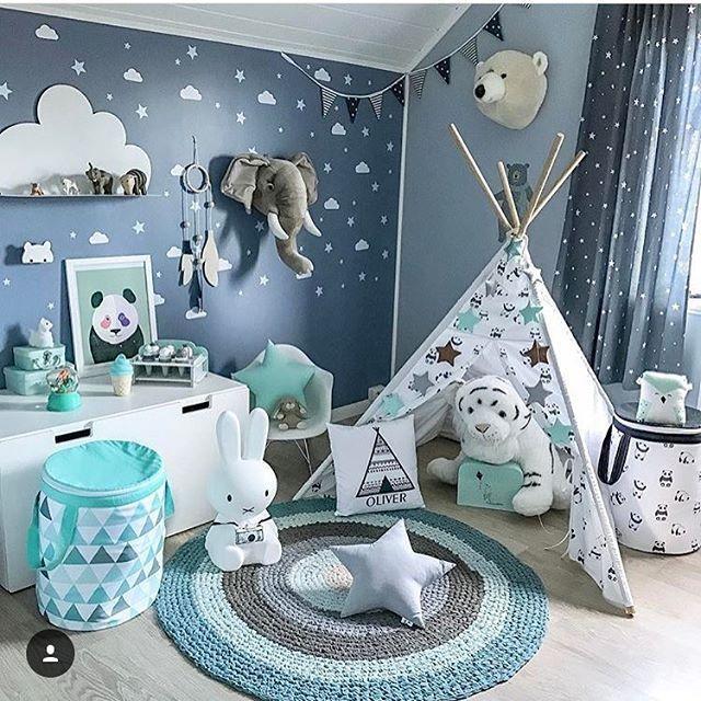 Baby Kinderzimmer – Jungen – Montessori Schlafzimmer
