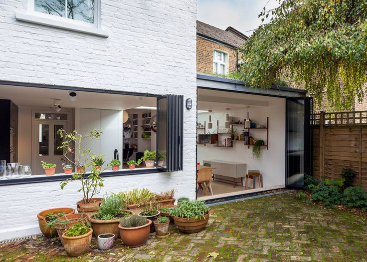 London house remodelled by Studio 30 with loft bedroom