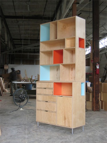 Against The Grain: 10 Creative Examples Of Plywood Furniture #Storage