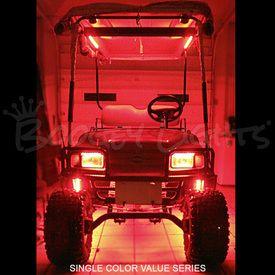 Golf Cart Underglow Single Color LED Light Kit (Colors Red) & 9 best The Custom Golf Cart LED Light Kits images on Pinterest | Led ...