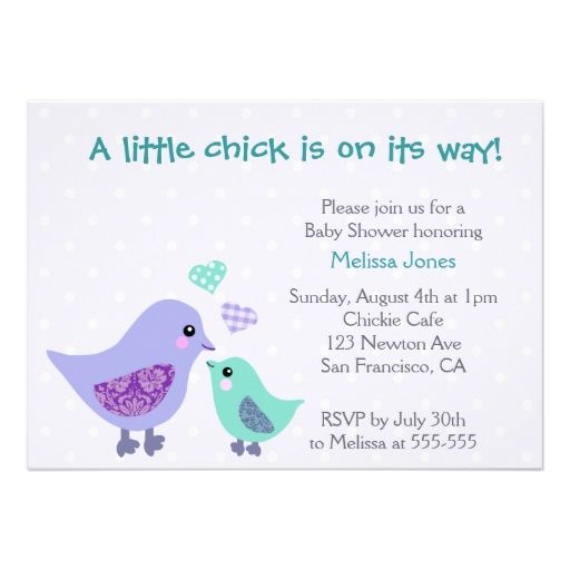 blue and purple invitations