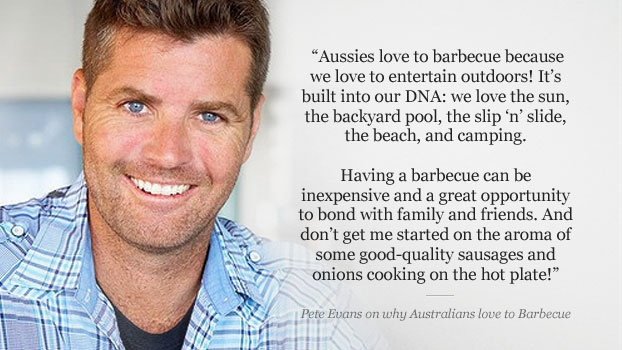 Aussie chef, Pete Evans shares his top barbecuing tips with The Home, and his favourite dish to whip up for Australia Day. http://www.thehome.com.au/magazine/decor/bbq-favourites-with-pete-evans/