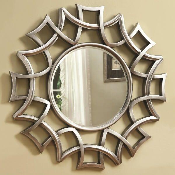 Pigura Cermin Minimalis Lingkar PGRM-001, pigura, living room, rumah minimalis