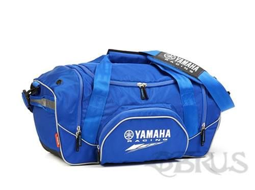 Yamaha Racing Sports Bag Big sports bag with all the storage capabilities for your sports gear. Features the Yamaha Racing logo printed Large zipped centre compartment Two roomy ventilated zipped side pockets Light padded front zipped pocket with compartments for your mobile phone and other small hands-on items Adjustable shoulder strap which can easily be removed Convenient carry handle with padded grip With grip handle at either side £39.07 inc vat. All available to order from QBRUS