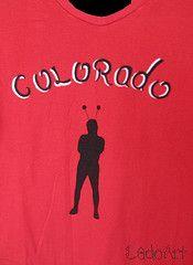 colorado (Dado Art - Aerografias) Tags: cores colorado arte artesanato diferente camiseta pintura airbrush inter tecido colorido personalizado nico aerografia customizao pinturaemtecido chapolim chapolimcolorado