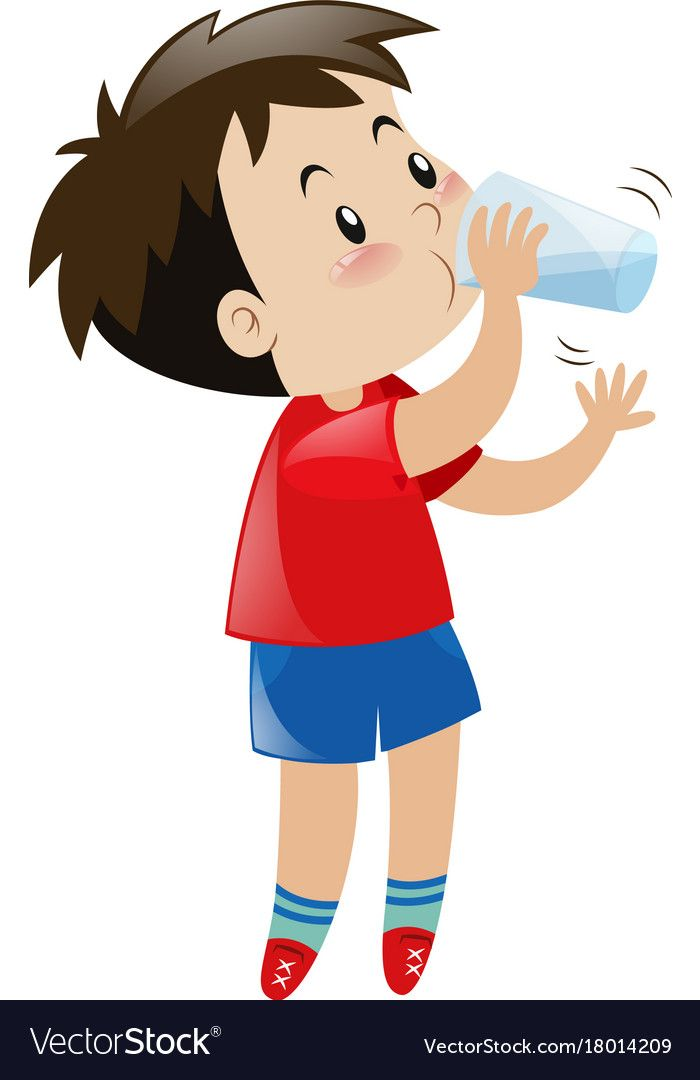 Drinking Water Clipart