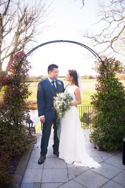 Silk crepe bespoke wedding gown #BridalWear #CoutureWeddingGown #designerweddingdress #luxurywedding #BrideStyle #MyBestMe #luxewedding #2018bride #2019bride