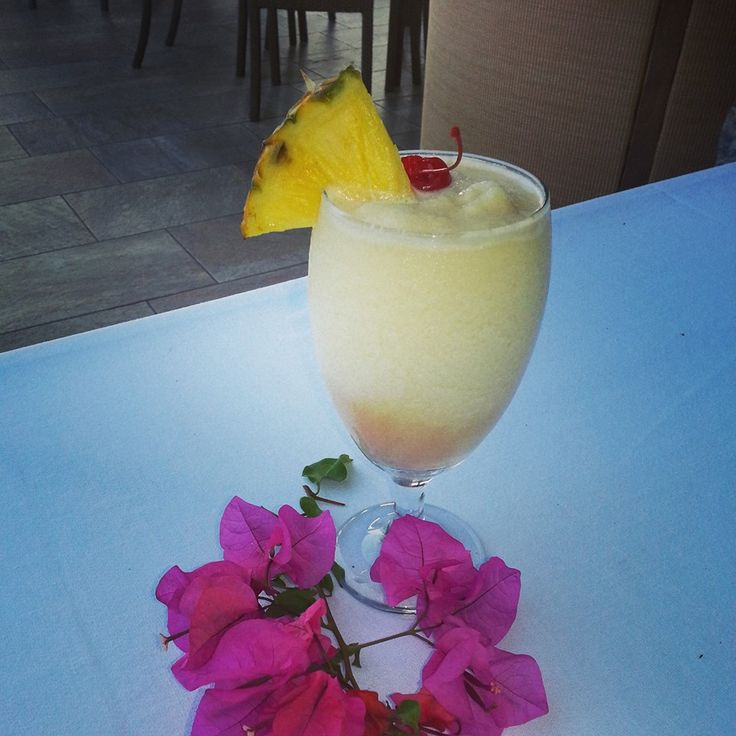Passion Fruit Colada From The Frenchman's Reef Marriott
