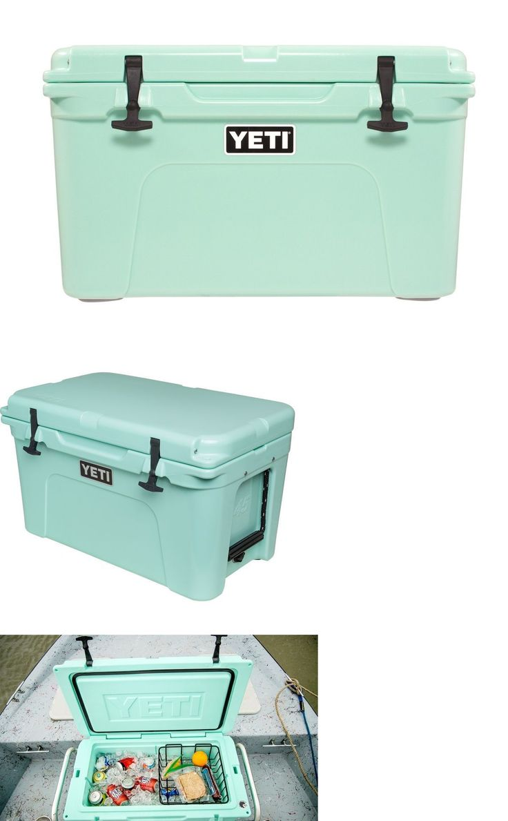 Camping Ice Boxes and Coolers 181382: Yeti Tundra 45 Cooler Seafoam Green Limited Edition! *New In Box! Free Shipping* -> BUY IT NOW ONLY: $399.99 on eBay!