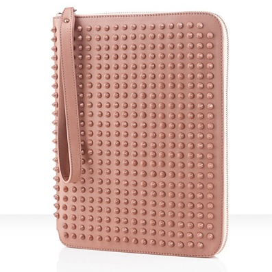 Christian Louboutin - Spiked 'CRIS' iPad Case: Ipad Cases, Men Accessories, Leather Cases, Accessories Man, Tablet Accessories, Calf Leather, Classic Accessories, Christian Louboutin, Louboutin Ipad