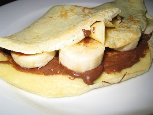 worldcookery: Banana and Nutella Crepes