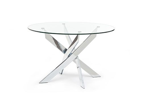 Structube - Dining room : Tables : Ibiza (Chrome)