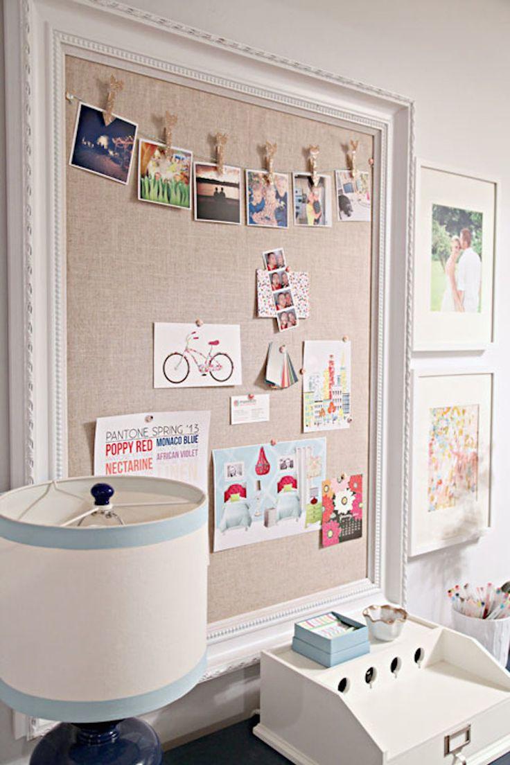 Painéis para organizar seu escritório | Danielle Noce