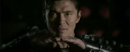 THE MAN WITH THE IRON FIST  X-BLADE (RICK YUNE) GIF