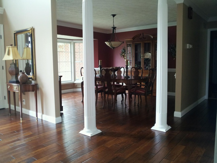 Love My New Solid Hardwood Floor In Dining Room With