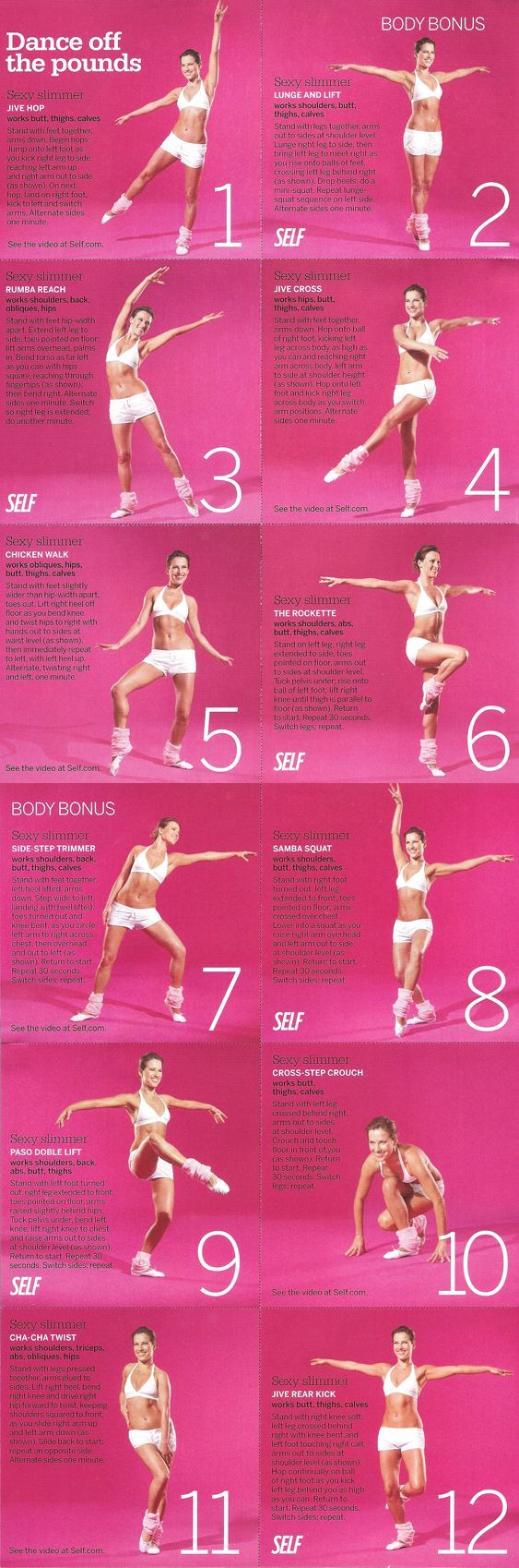 SELF Ballet Inspired Workout