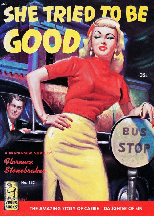 "Pulp Fiction cover, ""She Tried To Be Good"""