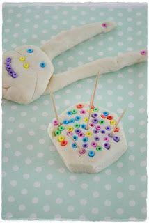 Idee, strijkkralen & klei!!
