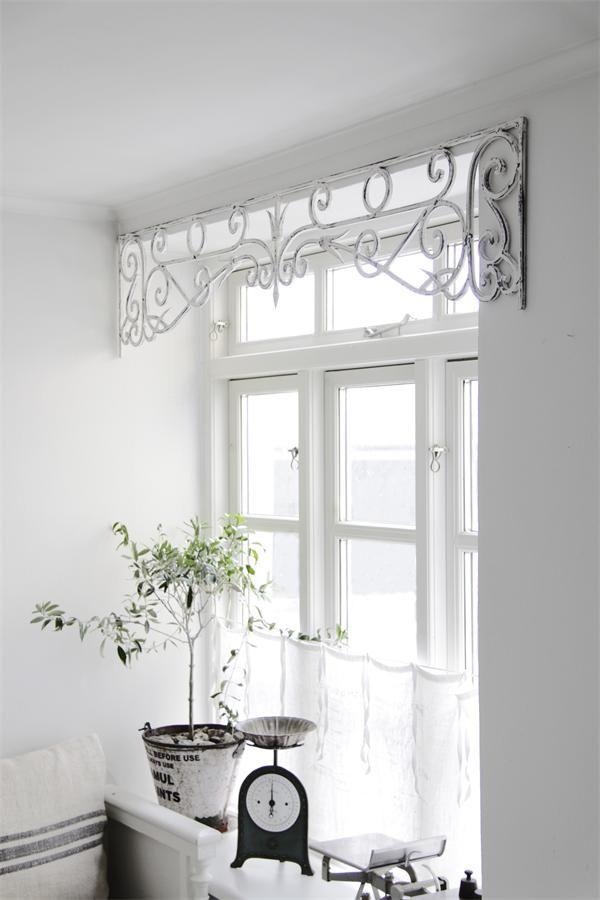 Les 20 meilleures id es de la cat gorie rideaux de fen tre for Habillage fenetre baie window