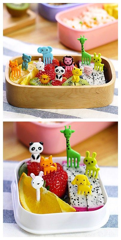 How lovely these Animal Shaped Food folks, party must have for your kids.
