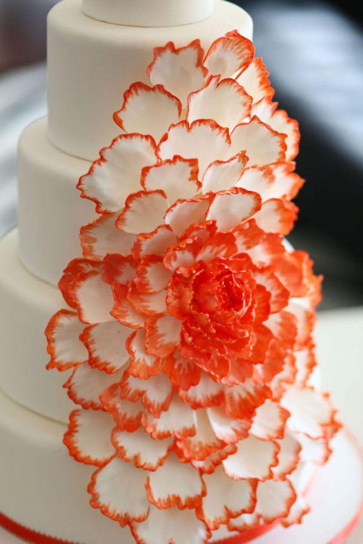 Cake by Jan Kish - La Petite Fleur / jankish.com, Photography by Simon Yao Studio / simonyao.com