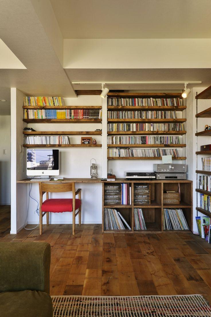 T邸・好きなものに囲まれて暮らせる家の部屋 LDK-趣味スペース