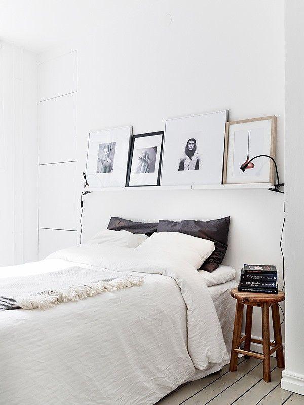 Task Clip Reading Light in Bedroom