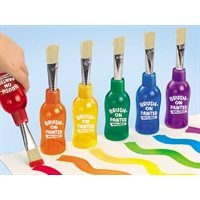 Brush-On Washable Painters-Kids brush on vibrant, fully washable colour—with every squeeze!