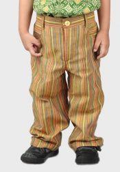 Van Batik  Van Batik Celana Panjang Lurik Coklat
