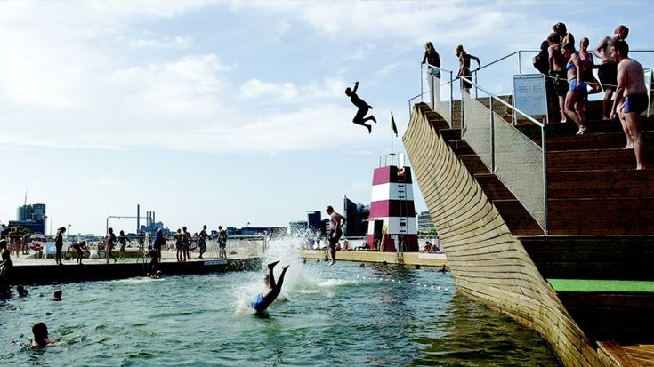 Copenhagen Harbour Baths, Denmark 5 of the world's most 'generous' public spaces - by Wayne Hemingway