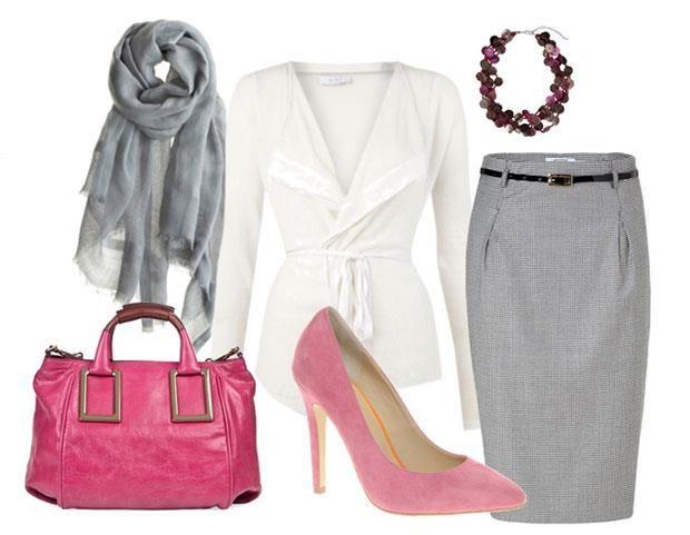 С чем можно носить розовые на высоком каблуке туфли