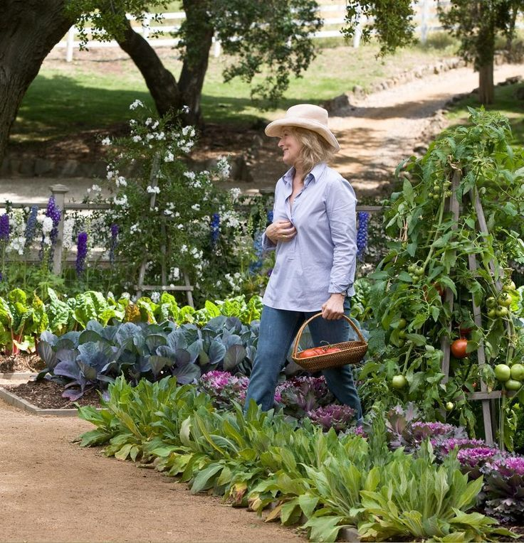 the gorgeous vegetable garden in the movie 'It's Complicated' with Meryl Streep