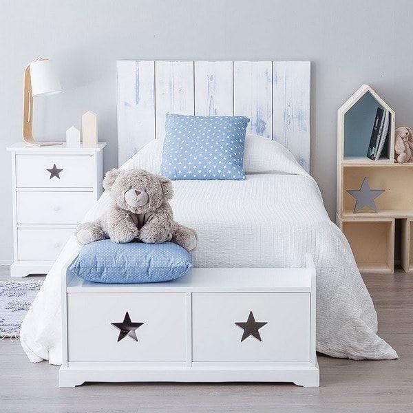 Las 25 mejores ideas sobre cuartos de bebes varones en for Muebles de dormitorio infantil