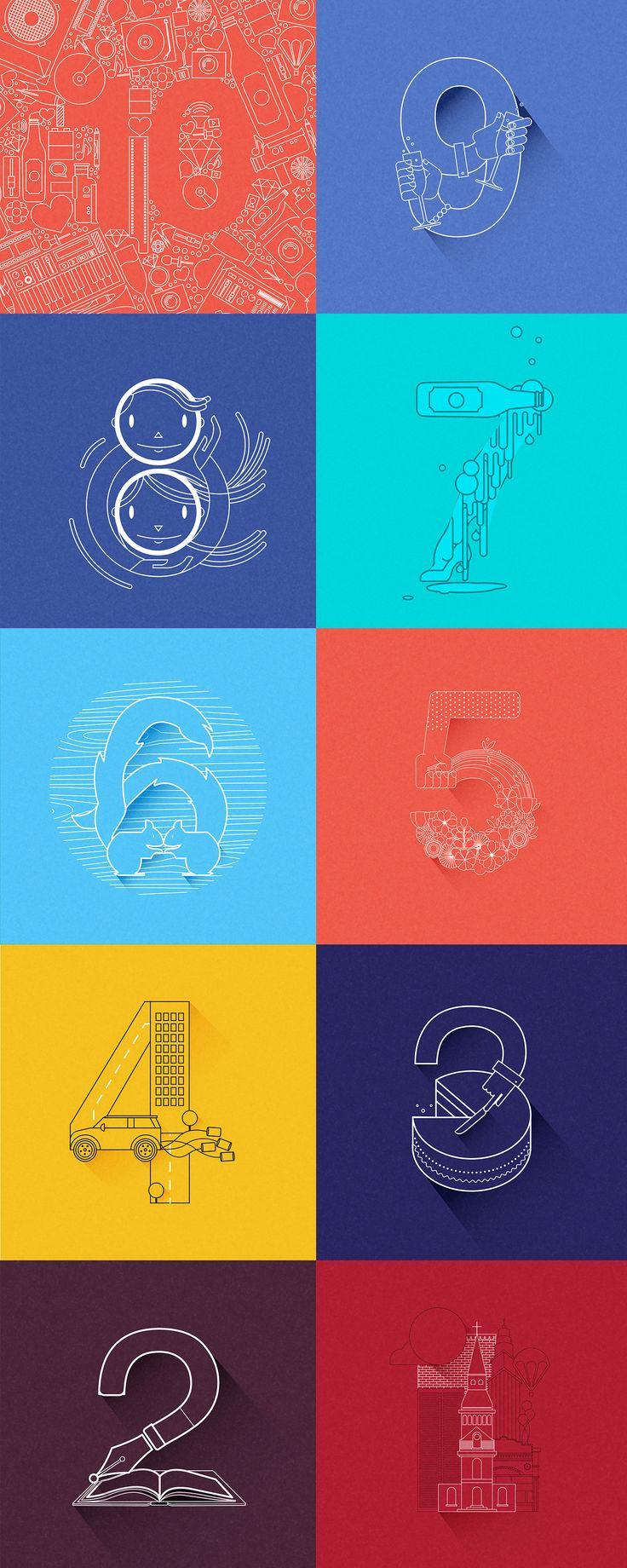 Serie de ilustraciones