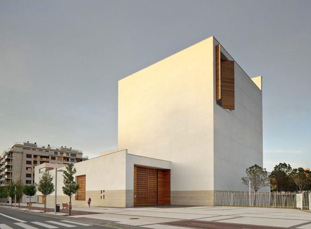 Iglesia de Iesu by Architect Rafael Moneo