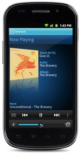 The Sonos app comes to Android. Rejoice, all ye Android users! Loudly. And with bangin' bass.