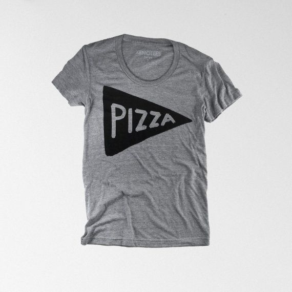 Womens Pizza Party T-shirt If you're always in search of the perfect slice of pizza, like I am, you'll appreciate this shirt. Spending so long in New Haven around Sally's and Pepe's has spoiled me for