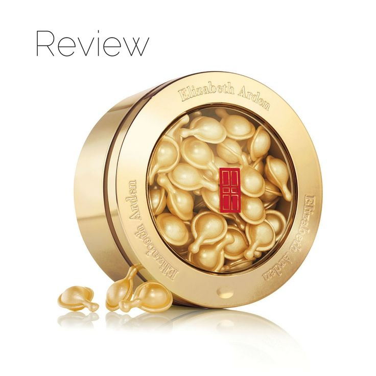 Elizabeth Arden Ceramide Youth Restoring Capsules. Reviewed by Beauty by the Geeks