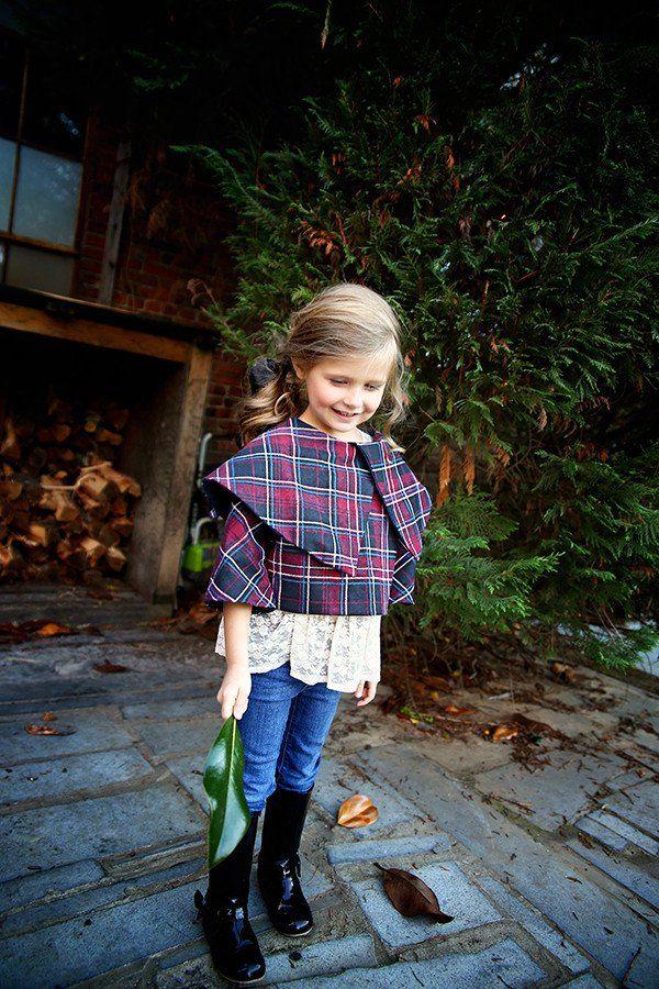 Cora Bolero Violette field threads, Bolero, Little girls